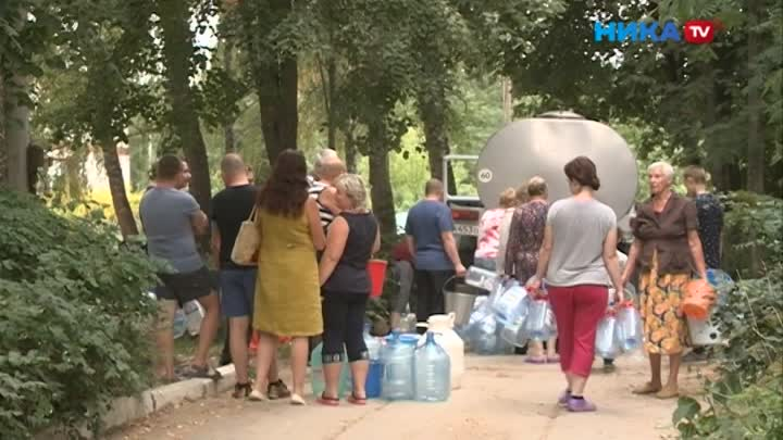 300 спартанцев наОдоевском шоссе: Жители Калуги уже месяц обходятся без воды