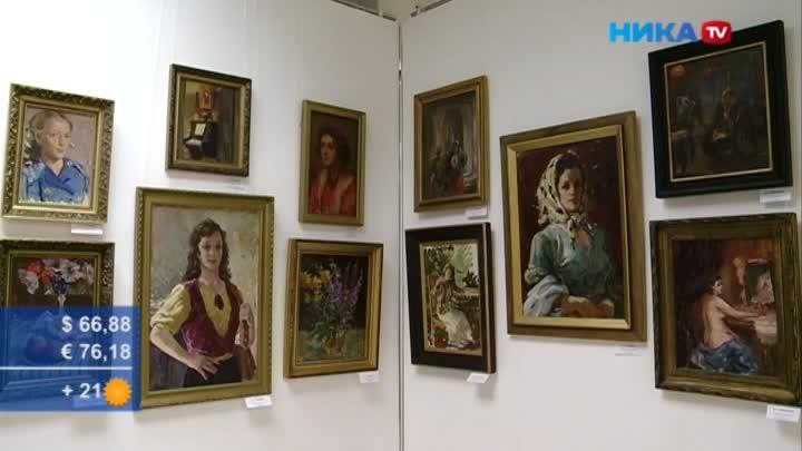 Окунуться всоветское прошлое: Открылась выставка старейших живописцев Калуги