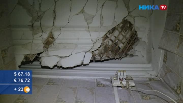 Полный провал: Вдоме наулице Набережной обвалилась крыша