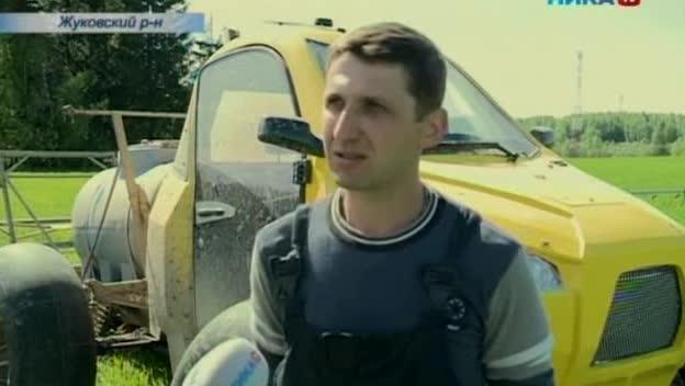 В Жуковском районе закончить весенне-полевые работы так рано помог «марсоход»