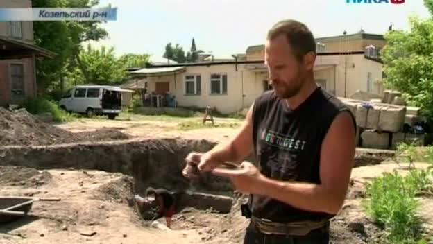 В Козельске начались археологические раскопки на месте, где находилась крепость времен Древней Руси