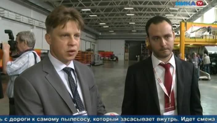 На заводе «Меркатор» в Калуге запустили локализованную линию коммунальной техники нового поколения