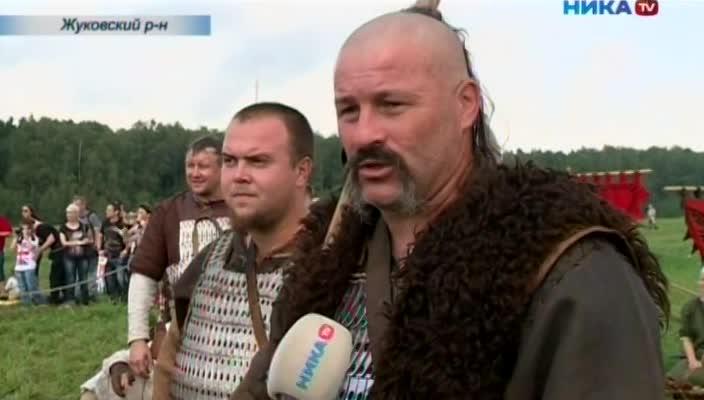 В Жуковском районе состоялся фестиваль исторических клубов «Воиново поле»