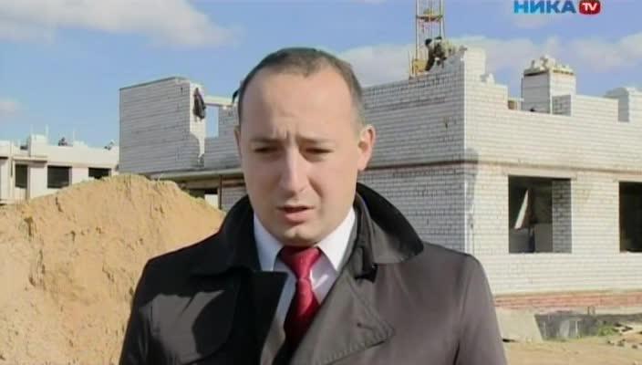 В Подборках и Малоярославце строят по два многоэтажных дома по программе переселения из ветхого и аварийного жилья