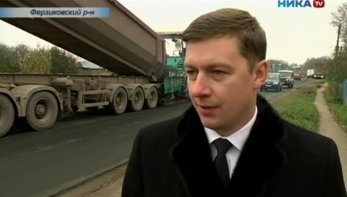 В Ферзиковском районе началось масштабное обновление дорог