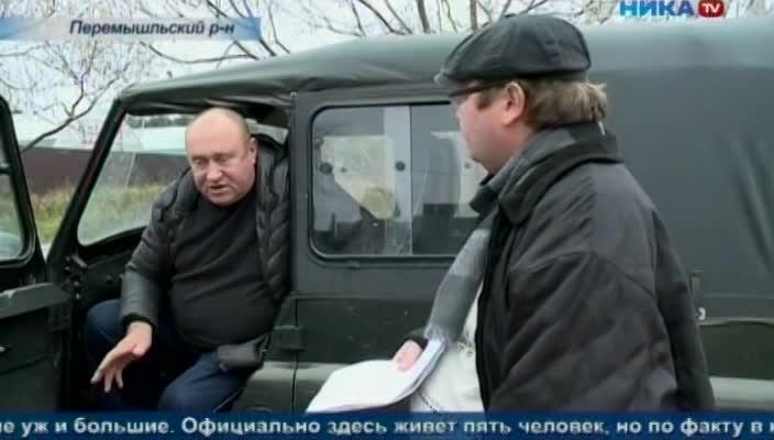 Жителям деревни Большие Сушки Перемышльского района почти сделали дорогу