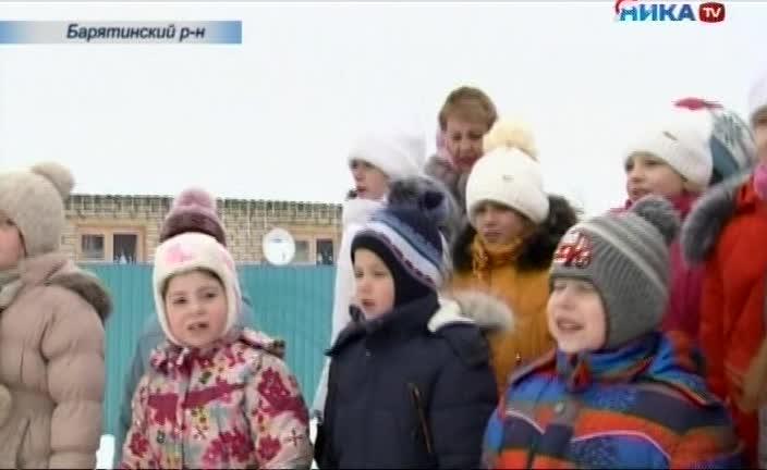 Продолжаются Рождественские святки - особые дни, когда на улицах города и в храмах можно встретить колядовщиков - христославов