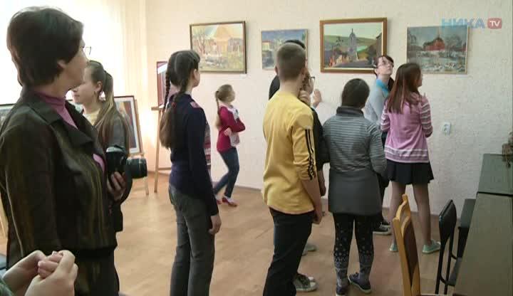 Выставка в ДШИ №4 Легко