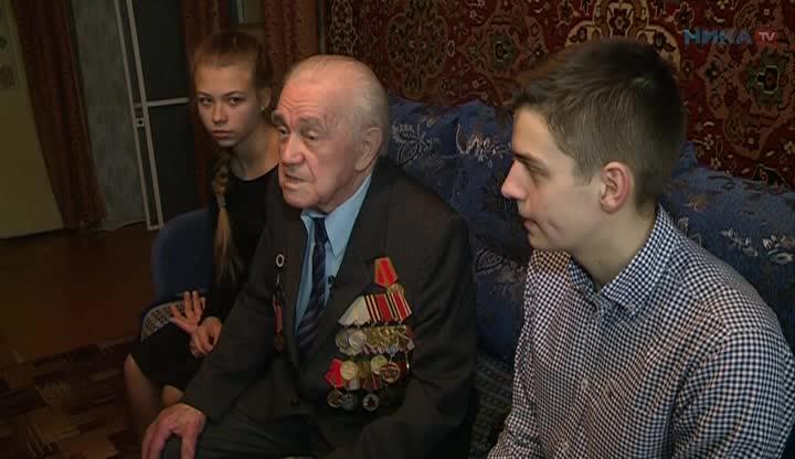 Встреча с ветераном Легко
