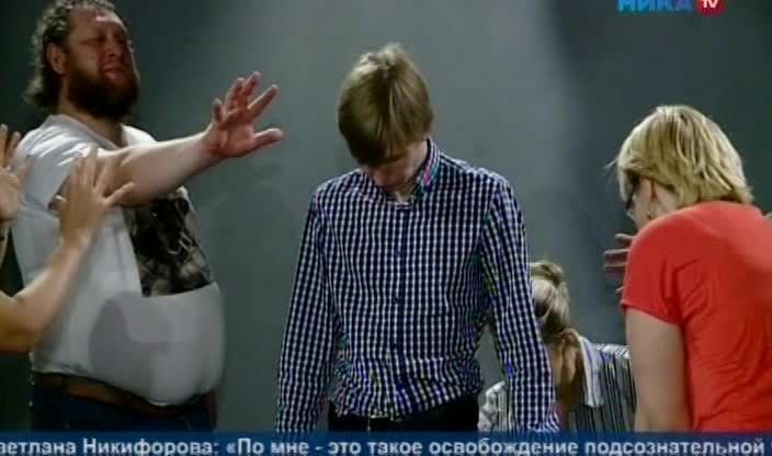 В Калужском драматическом театре прошел мастер-класс для актеров по методике Чехова