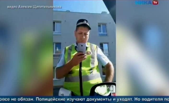 Разбираемся в ситуации: В резонансном видео калужский водитель кричит вслед автоинспекторам «Уроды!». Что случилось?