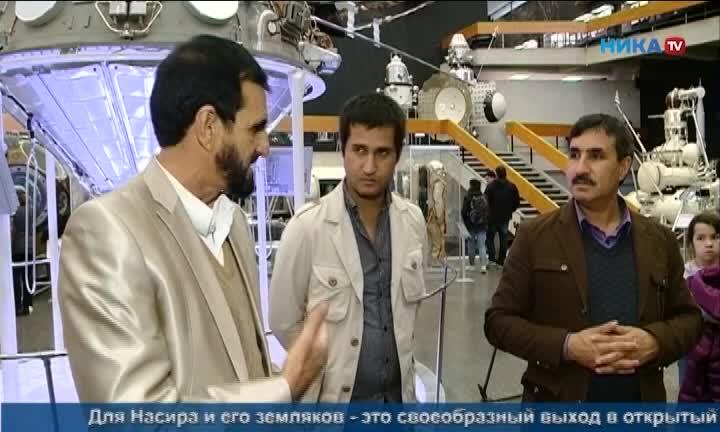 Афганские журналисты посетили музей истории космонавтики, дом Шамиля и главный храм региона