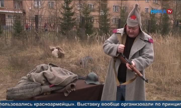 Позиции Вермахта и полевой лагерь рабоче-крестьянской красной армии появились рядом с Тимирязевский академией