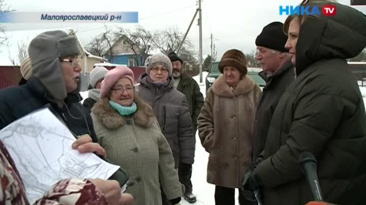 Жители деревни Анисимово Малоярославецкого района надеются, что им вернут дорогу