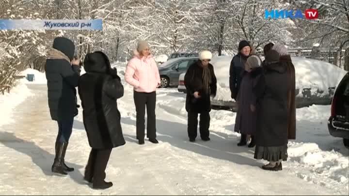 Жители Жуковского района обратились к президенту