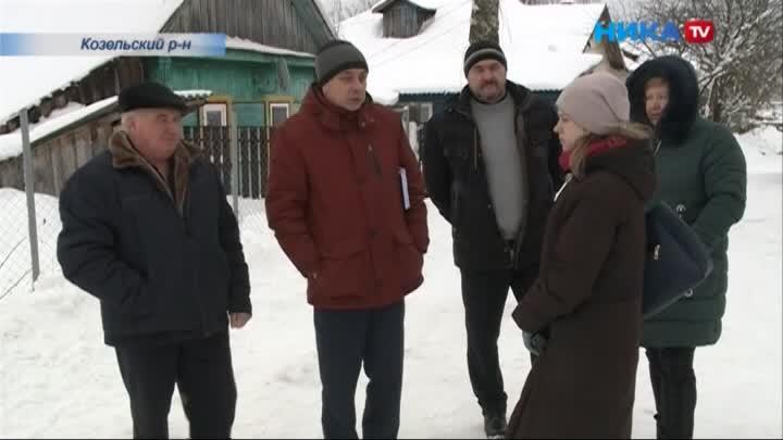 Жители Козельска и близлежащих деревень обратились с письмом к президенту