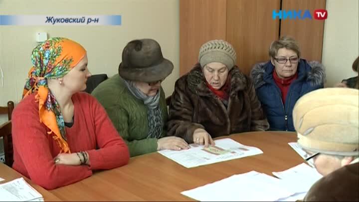 В поселке Восход Жуковского района прошла презентация дизайн-проектов благоустройства территорий