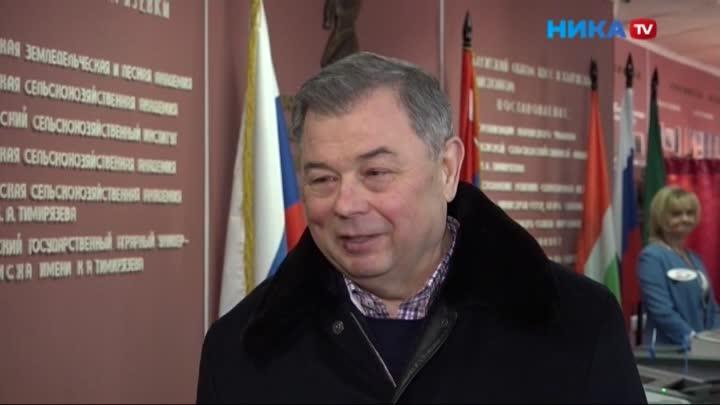 В числе первых в Калужской области свой выбор сделал глава региона