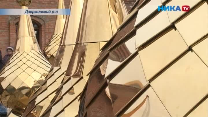 В усадьбе Полотняный Завод завершился этап строительных работ по восстановлению храма Преображения Господня