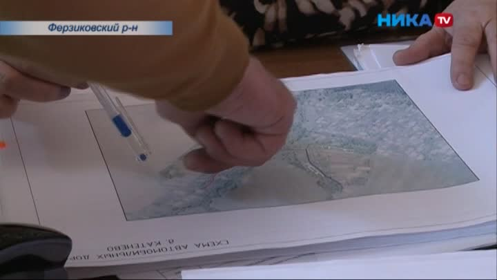 Деревня Катенёво Ферзиковского района оказалась отрезанной от цивилизации