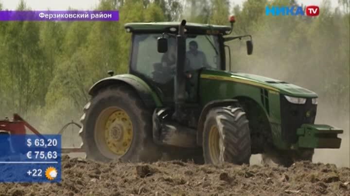 Калужские фермеры вышли на поля