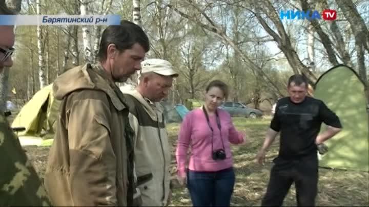 В Барятинском районе поисковики открыли Вахту Памяти