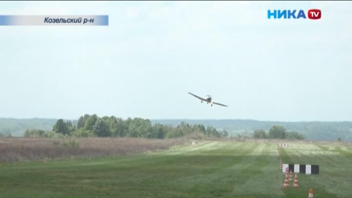 На аэродроме Хатенки прошел авиационный праздник