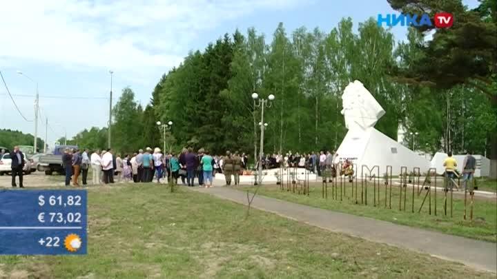 В селе Кудиново продолжили благоустройство братского захоронения
