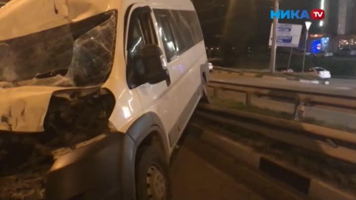 Грузовик сорвался с ручника и катился по улице Гагарина в Калуге