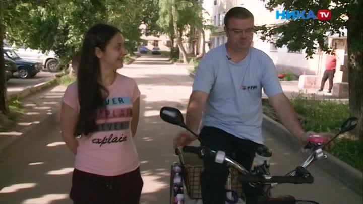 Крути педали: Калужане приняли участие в акции «На работу на велосипеде»