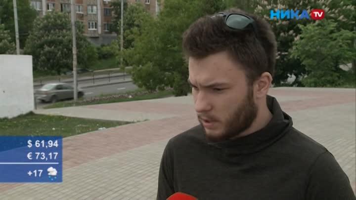Первый бросился на помощь: очевидец рассказал, как произошло ДТП с укатившимся грузовиком на Гагарина