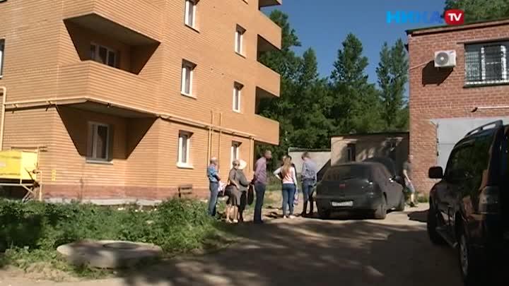 Новая надежда: Дольщикам с улицы Больничной в Калуге пообещали их законные квадратные метры