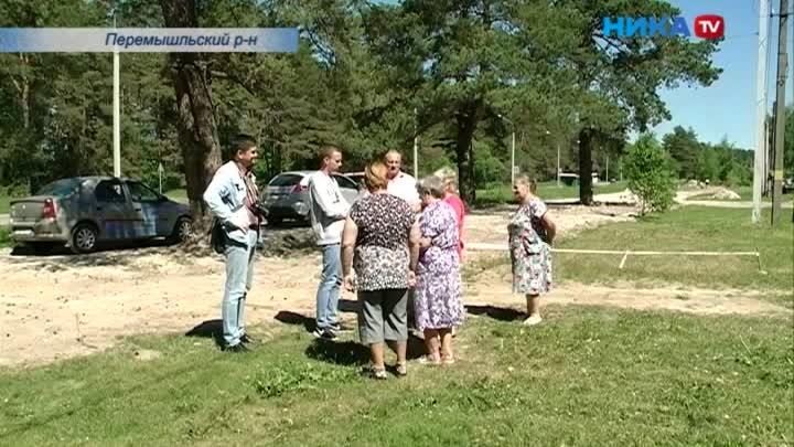 Жители Корекозево ждут чистой воды из крана
