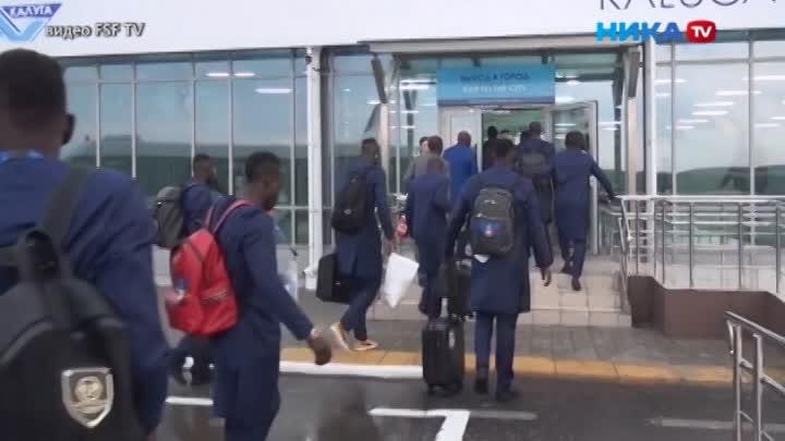 Как футболисты сборной Сенегала осваиваются вКалуге