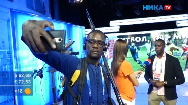 Сенегальские журналисты вгостях уНики ТВ