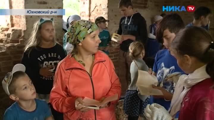 Вернуть прежний облик: ВЮхновском районе волонтеры восстанавливают храм