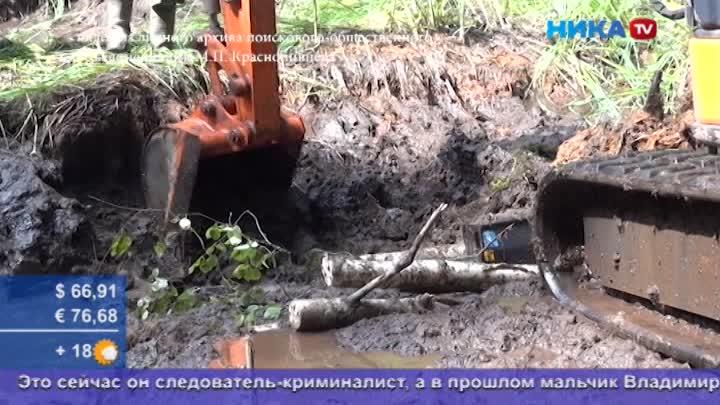 Увидеть свет спустя полвека: ВКировском районе поднимают истребитель времен ВОВ